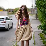 Šaty - Origo šaty hačkovanec limit - 10693652_