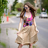 Šaty - Origo šaty hačkovanec limit - 10693653_