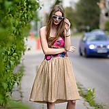 Šaty - Origo šaty hačkovanec limit - 10693654_