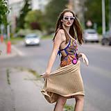 Šaty - Origo šaty hačkovanec limit - 10693655_