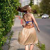 Šaty - Origo šaty hačkovanec limit - 10693656_