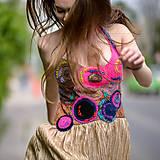Šaty - Origo šaty hačkovanec limit - 10693658_