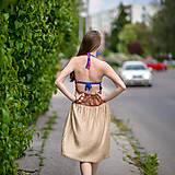 Šaty - Origo šaty hačkovanec limit - 10693660_
