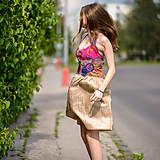 Šaty - Origo šaty hačkovanec limit - 10693661_