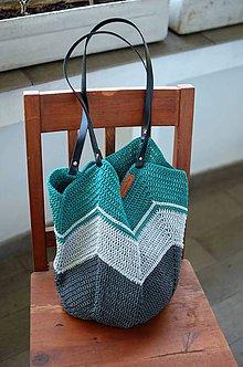 Veľké tašky - Petrolejka - 10695644_