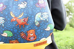 Batohy - Nepremokavý zvieratkový batôžtek - 10693847_