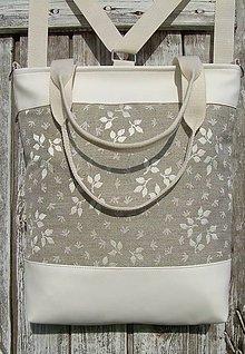 "Batohy - ""backpack 3in1-  lana flowers"" - Batoh & taška cez rameno - 10693853_"