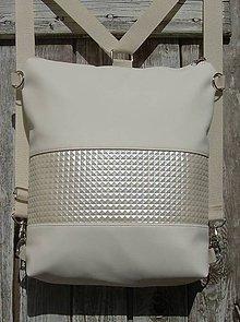 "Batohy - backpack 2in1 - ""bright side"" - Batoh & taška cez rameno - 10695233_"