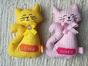 Hračky - Darčeky pre svadobných hostí - mačičky. - 10694071_