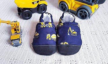 Topánočky - Capačky - stavebné stroje - 10694661_