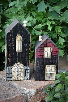 Dekorácie - Také staré domčeky... - 10693257_