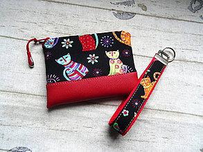 Taštičky - Color Cats - sada - 10696699_