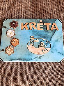 Papiernictvo - Cestovateľský album - Kréta - 10698159_