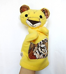 Hračky - Maňuška tiger - Tigrík z Malej Džungle - 10696620_