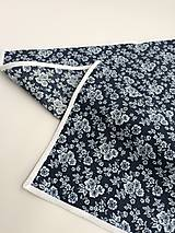 Úžitkový textil - bavlnený obrus modrotlač rôzne rozmery - 10697987_