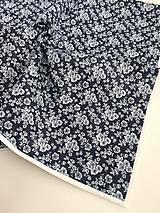 bavlnený obrus modrotlač rôzne rozmery (40/40)