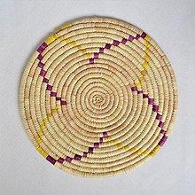 Pomôcky - Africký závesný kruh na stenu - 10697876_