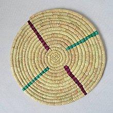 Pomôcky - Africký závesný kruh na stenu - 10697924_