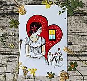 Kresby - Okno do srdca - 10696242_