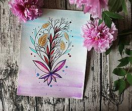 Kresby - Akýsi kvet - 10696261_