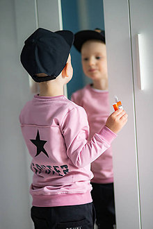 Detské oblečenie - Mikina Hipster ručne maľovaná - RVL - 10698750_