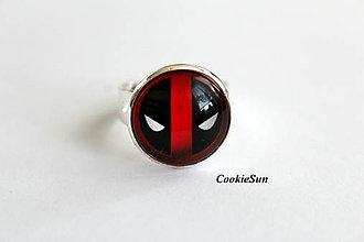 """Prstene - Prsteň """"Deadpool"""" - 10697323_"""