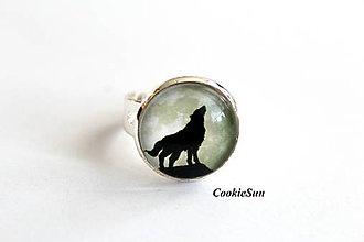 """Prstene - Prsteň """"Wolf"""" - 10697369_"""