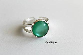 Prstene - Glamour Dark Mint - 10698901_