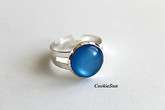 Prstene - Glamour Sapphire - 10698911_