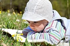 Detské čiapky - Baby šiltovka Madeira pre najmenších - 10696223_