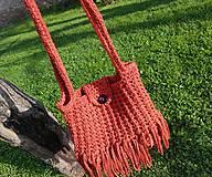 Kabelky - Háčkovaná kabelka - 10698210_