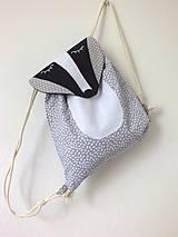 Detské tašky - Detský ruksak zvieratko - Jazvec - 10698647_
