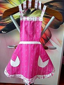 Detské oblečenie - Zásterka pre dievčatká - 10697132_