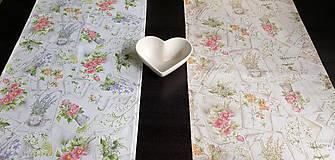 Úžitkový textil - Obrusy - štóly vintage - 10696513_