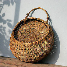 Košíky - závesný košík - 10696418_