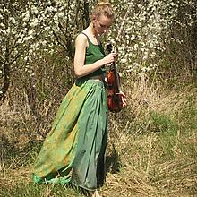 Sukne - Maxi sukňa s nádychom starých čias S-XL - 10698248_