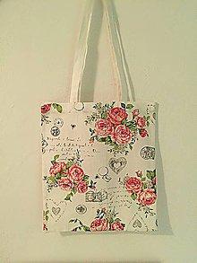 Nákupné tašky - Vintage taška - 10701716_