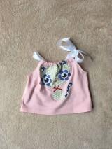 Detské oblečenie - Recy top Mačička - 10699227_