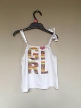 Detské oblečenie - Recy top Girl - 10699238_