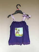 Detské oblečenie - Recy top Na ostrove - 10700018_