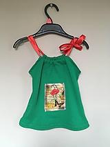 Detské oblečenie - Recy top Divý mak - 10700043_