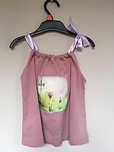 Detské oblečenie - Recy top Zázračný lampy - 10700051_
