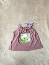 Detské oblečenie - Recy top Zázračný lampy - 10700054_