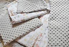 Textil - Minky souprava peřinek letní/zimní se zvířátky (Celoroční varianta) - 10701357_