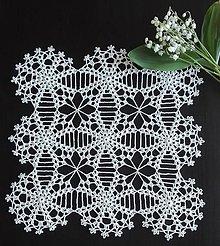 Úžitkový textil - Jarné kvety - 10700060_