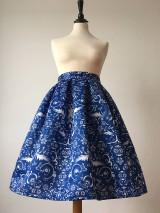 Sukne - sukňa Modrý folklór - 10700847_