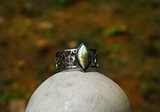 """Náramky - Nerezový náramek """" Silver and stone """" - 10700605_"""