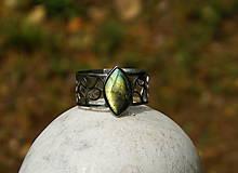 """Náramky - Nerezový náramek """" Silver and stone """" - 10700607_"""