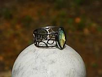 """Náramky - Nerezový náramek """" Silver and stone """" - 10700609_"""