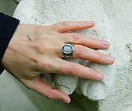 """Prstene - Nerezový prsten .."""" Lace and stone """" - 10700643_"""
